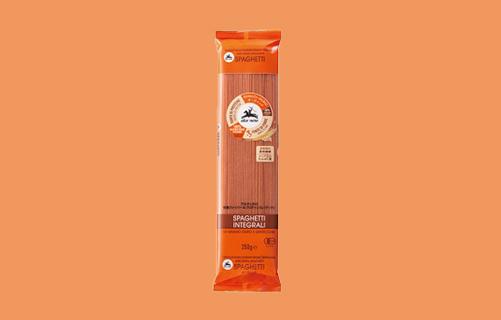 アルチェネロ有機ファイバー&プロテインスパゲッティ 全粒粉とレンズ豆250g
